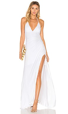 Tizzii Maxi Dress in White