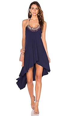 Palmiro Dress in Navy