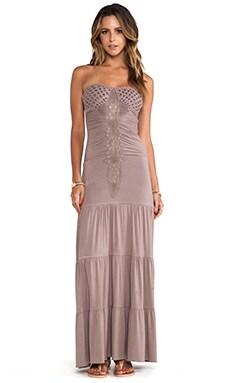Lapis Maxi Dress in Taupe