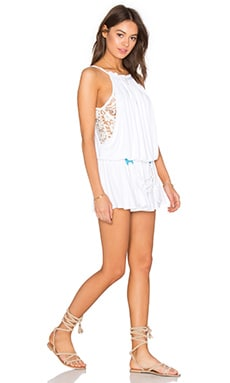 Xallvadorra Romper in White