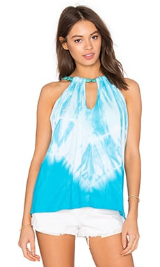 Balen Top in Turquoise