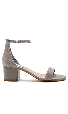 Irenee Sandal in Grey Suede