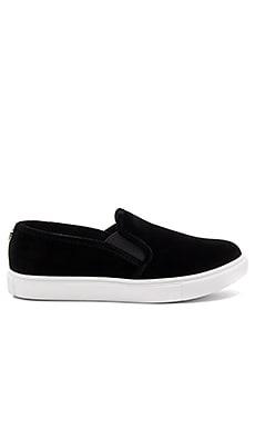 ECNTRCV Sneaker in Black Velvet