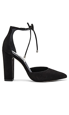 Pampered Heel in Black Nubuck
