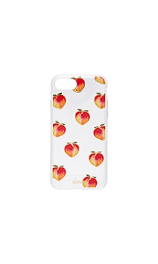 Peachy Keen iPhone 7 Case in Clear