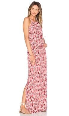 Nirveli Maxi Dress in Fired Brick