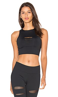 Incise Sport Bra in Black