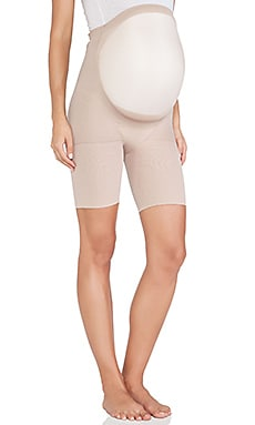 Power Mama Mid-Thigh Shaper in Bare