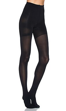 Luxe Leg Tights in Very Black