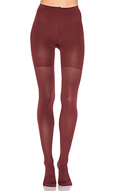 Luxe Leg Tights in Syrah Wine