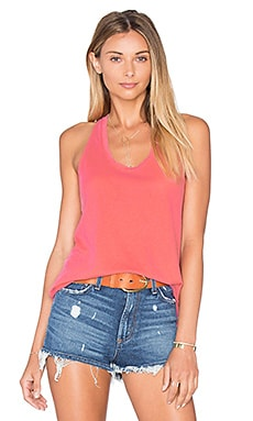 Vintage Whisper Twist Back Tank in Vintage Wild Rose