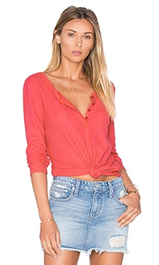 Heathered Thermal Top in Wild