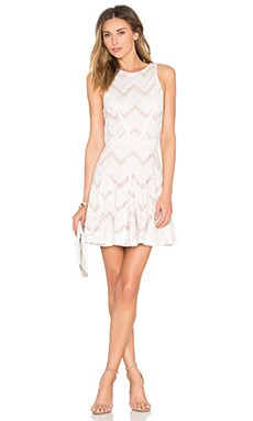 Miranda A Line Dress in Blanc