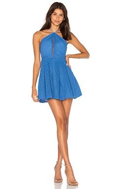 Monroe Dress in Aster Blue