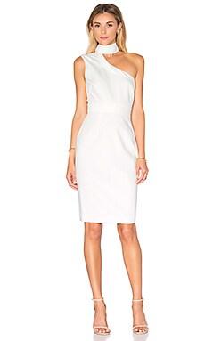 Aspen Midi Dress in Blanc