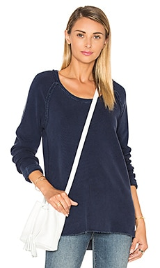 French Terry Pullover in Navy