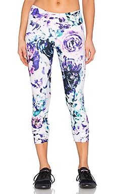 The Teagan Capri Legging in Bay Blossom