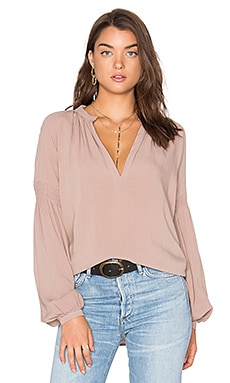 Pamela Top in Desert Rose
