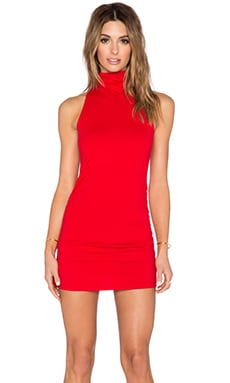 Harper Dress in Perfect Red