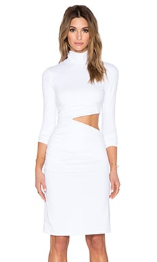 Theda Dress in White