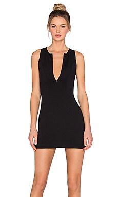 Scuba Dress in Black