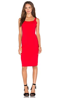 Lyanna Dress in Perfect Red