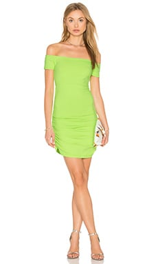 Jona Dress in Neon Lime