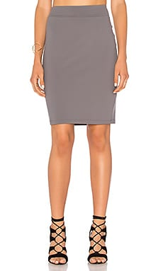 Pencil Skirt in Pigeon