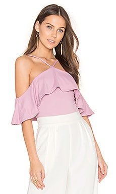 Ruffle Top in Shell