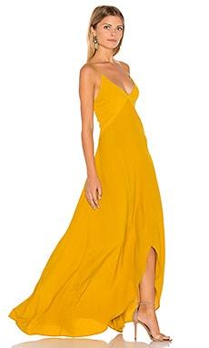 Isabella Dress in Old Mustard