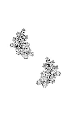 You Are All I See Earring in Rhodium & CZ