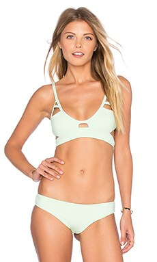 Jessi Triangle Top in Key Lime