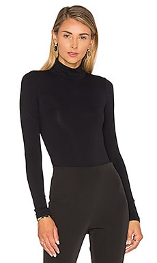 TaceTurtleneck Bodysuit in Black
