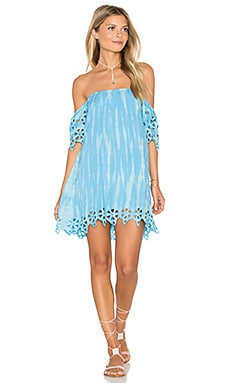 Gili Island Dress in Sky Tie Dye