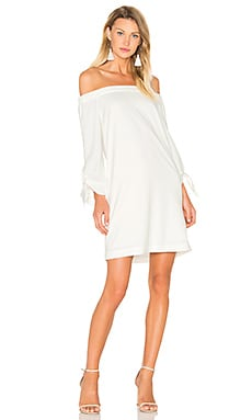 Off The Shoulder Dress in Ivory