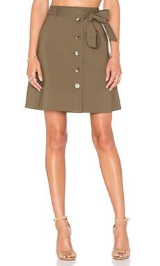 Cargo Skirt in Moss