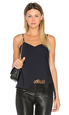 Lou Lou Applique Cami in Navy