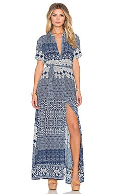 Amanda Maxi Dress in Navy