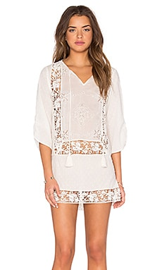 Sasha Shift Dress in Ivory