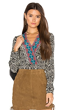 Amberline Top in Aztec