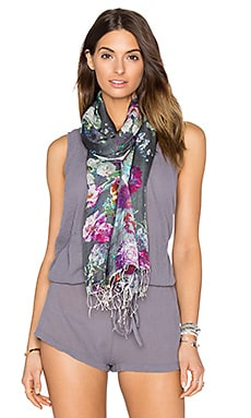 Botanic Scarf in Grey