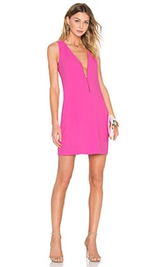 Banning Dress in Flamingo