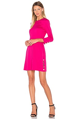 Flush Dress in Magenta