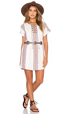 Warren Tunic Dress in Beatnik Stripe