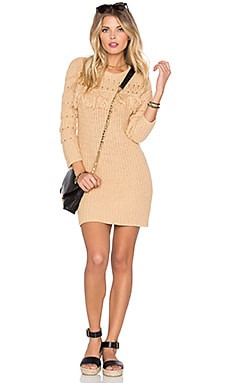 Posey Knit Dress in Natural