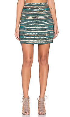 Crystal Skirt in Emerald