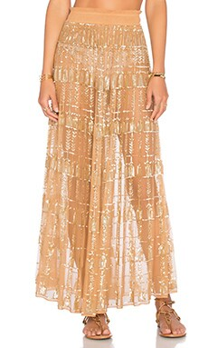 x REVOLVE x Rocky Barnes Stella Skirt in Golden Hour