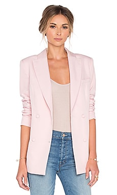 The Divergence Tuxedo Jacket in Pastel Pink