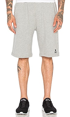 Estorial 5 Strike Sweatshort in Grey Heather