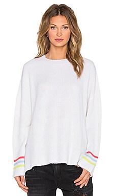Effy Sweater in White & Multi